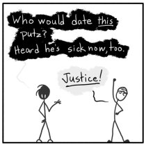 Out of the Box comic 071 Justice Has A Name... Allergies