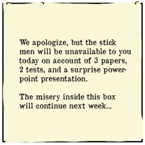 Out of the Box comic 073 We Apologize For The Inconvenience