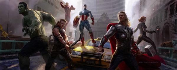 Ryan Meinerding Avengers concept art