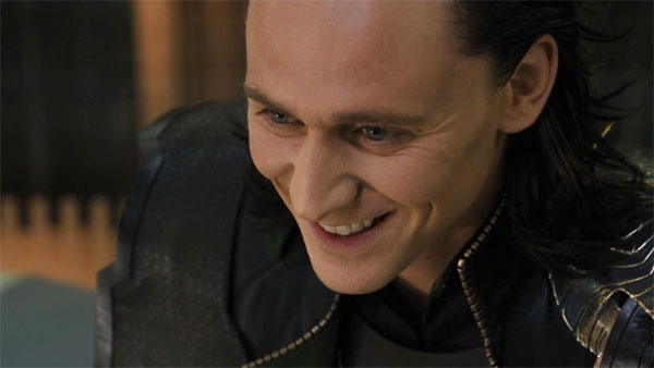 The Avengers Loki is evil and crazy