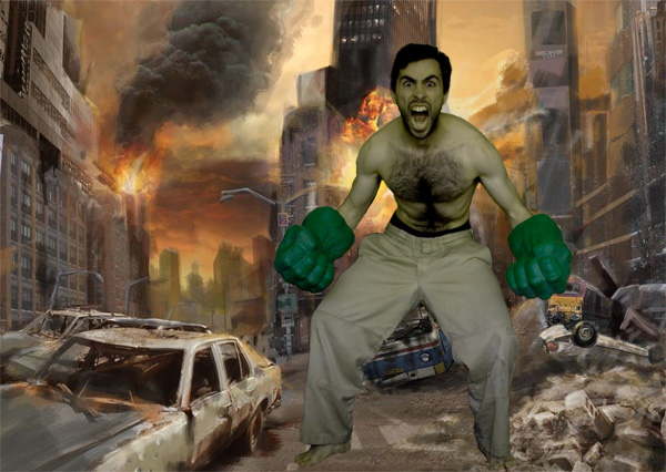 Mark Mushakian Hulk smash