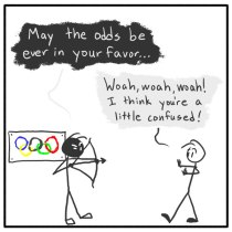 Out of the Box comic 089 Hungerlympics