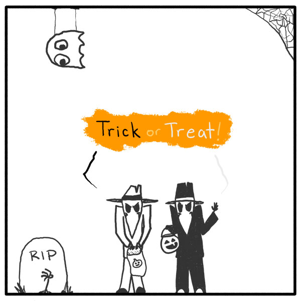 Out of the Box comic 102 Spy vs Halloween