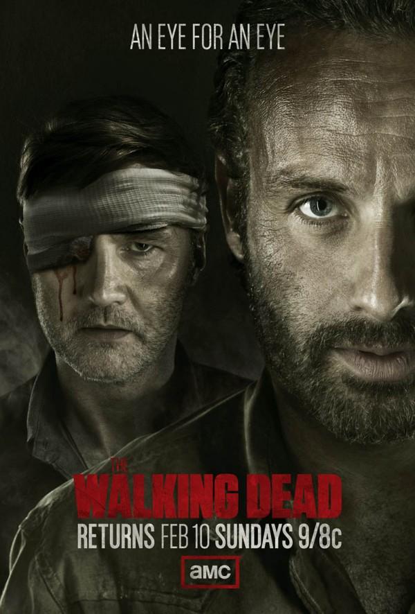The Walking Dead returns poster eye for an eye february