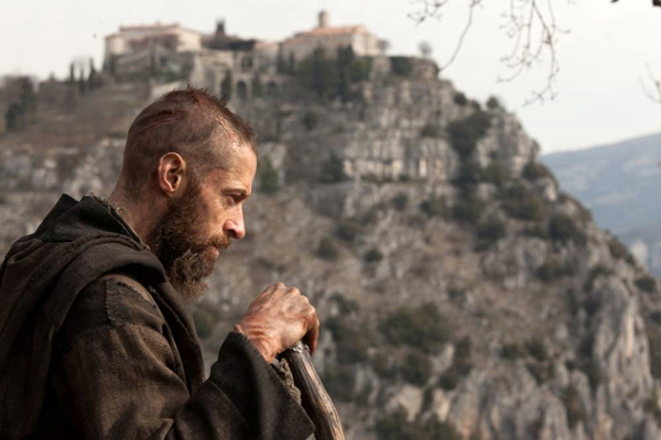 Hugh Jackman bearded in Les Miserables