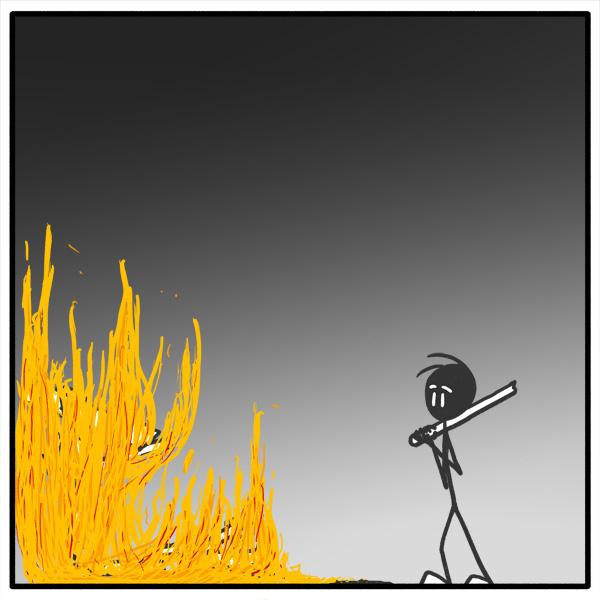 Out of the Box stickman webcomic 123 Killer's Remorse