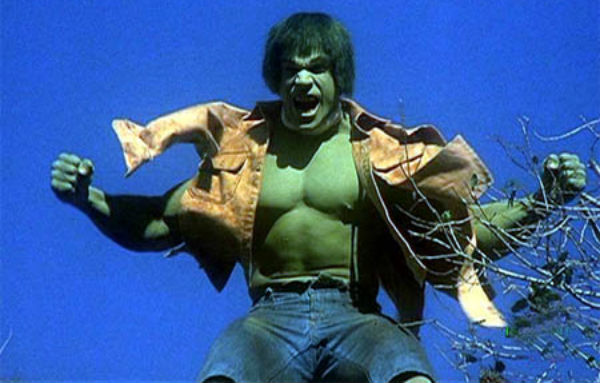 Hulk tv show lou ferrigno shirt tearing