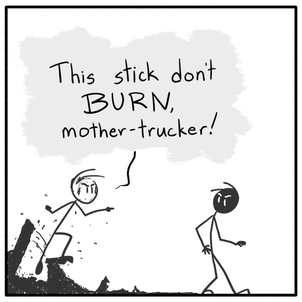 Out of the Box stickman web comic 125 And Here.. We... GO