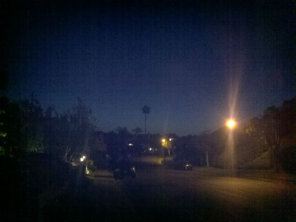 photograph 365 project picture a day dusk streetlight