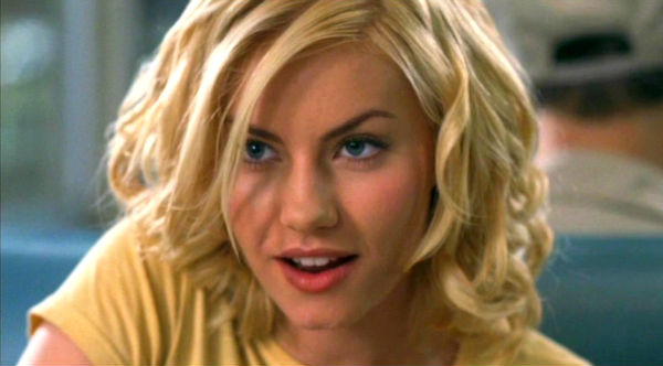 Elisha Cuthbert sexy arched eyebrow in The Girl Next Door