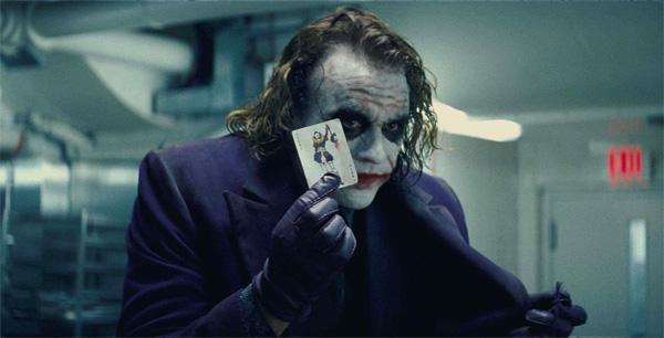 Dark Knight Joker here's my card
