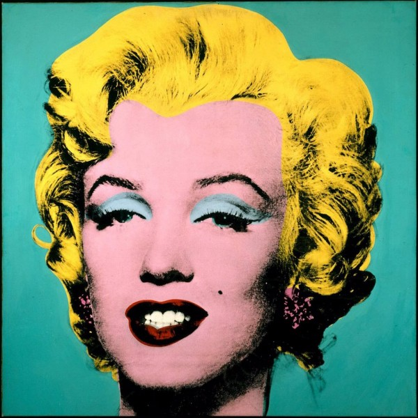 Andy Warhol Marilyn Monrow screen print
