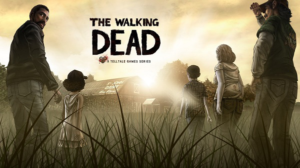 The Walking Dead title cover promo