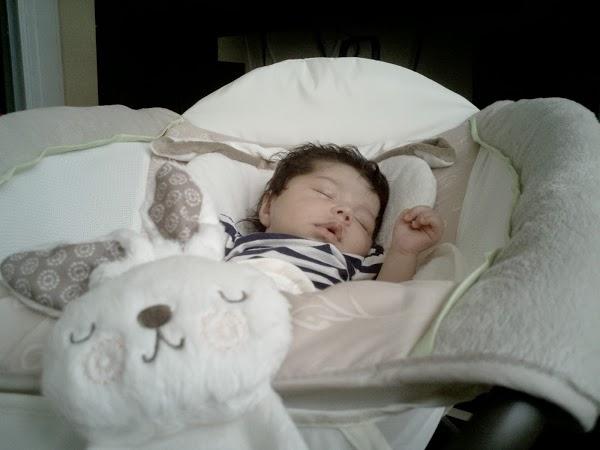 Sleeping baby Natalie