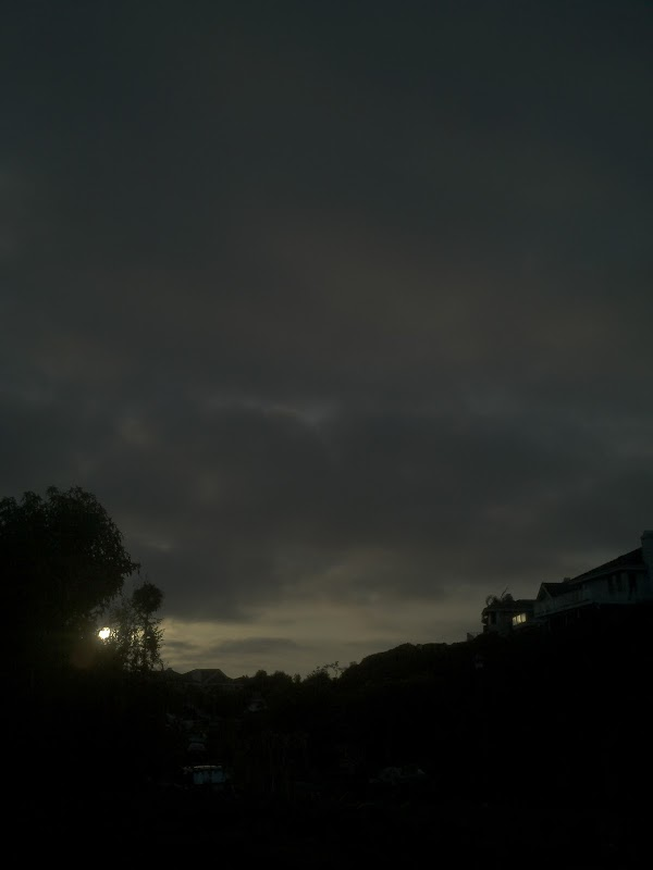 Photograph 365 project picture a day dark sunset low exposure cloudy sky