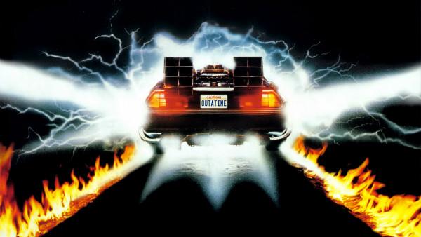 Back to the Future DeLorean fluxing