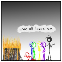 Out of the Box weekly stick figure web comic 153 Ry G. Biv