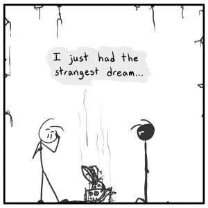 Out of the Box weekly stick figure web comic 167 Do You Dream In Color