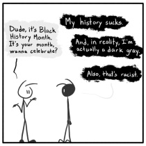 Out Of The Box weekly stick figure web comic 169 Noire Past Allotment