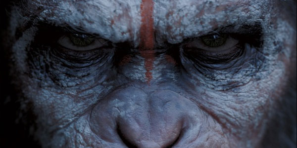 Dawn of the Planet of the Apes Caesar face