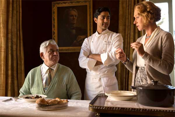 Om Puri Manish Dayal and Helen Mirren discuss French cuisine