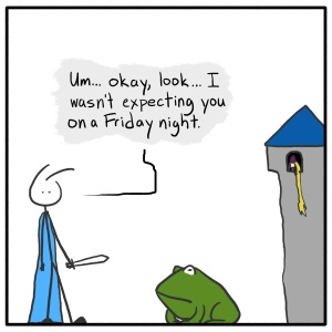 Out of the Box weekly stick figure web comic 201 Friday Knight Privacy