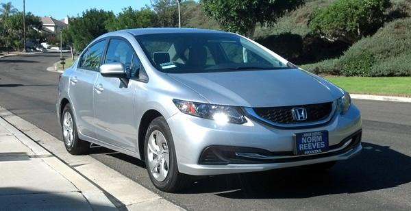2014 Honda Civic LX new