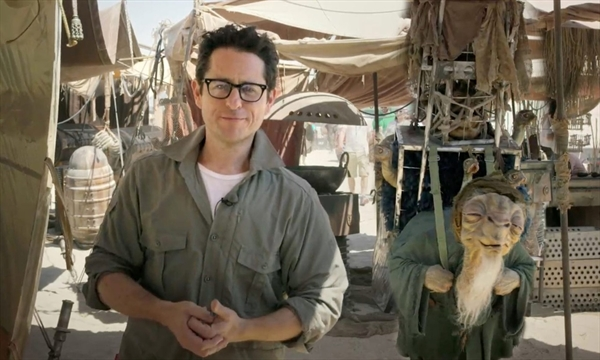 JJ Abrams behind the scenes Star Wars Force Awakens
