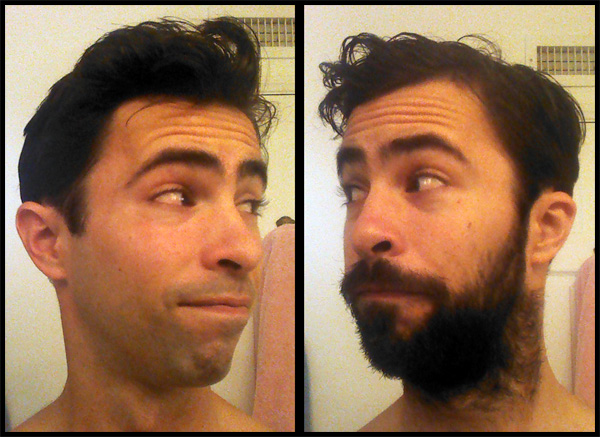 No Shave November day 30 results beard vs clean shaven