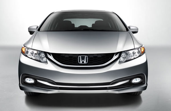 2014 Honda Civic front end smiling