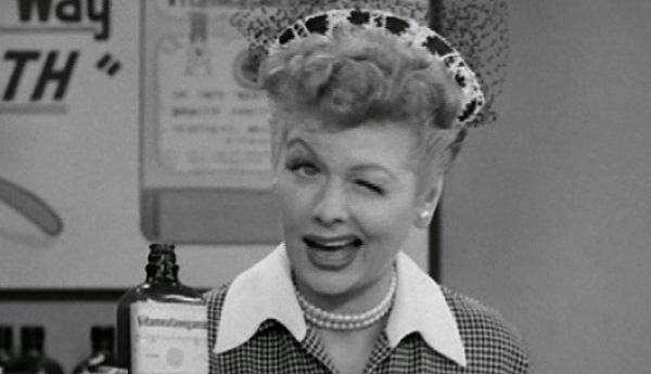 I Love Lucy vitameatavegamin wink