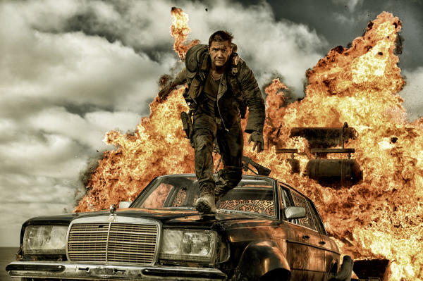 Mad Max Fury Road explosion