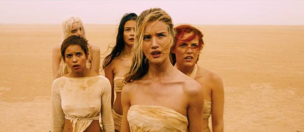 Mad Max Fury Road the wives