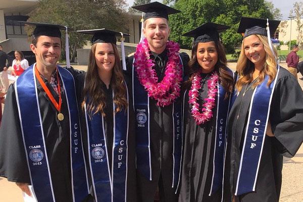 CSUF graduation 2015