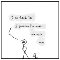 Out of the Box weekly stick figure web comic 242 The Stickest of All the Superheroes