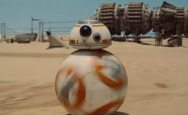 Star Wars Force Awakens ball droid so cute