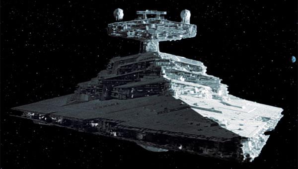 Imperial star destroyer Star Wars