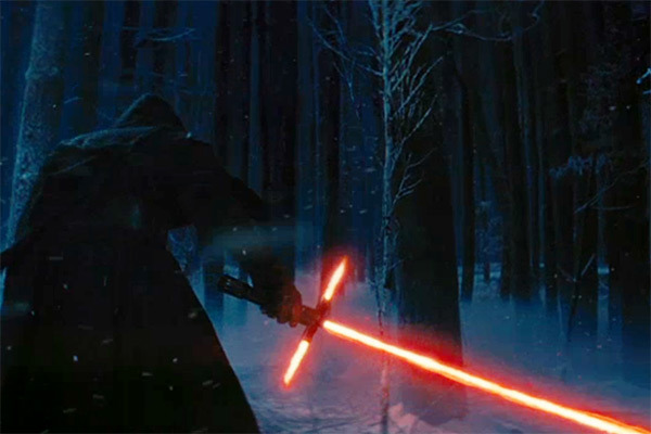 Kylo Renn lightsaber