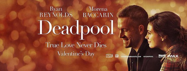 Deadpool romantic poster
