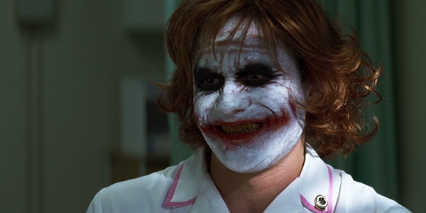 Joker nurse makeup