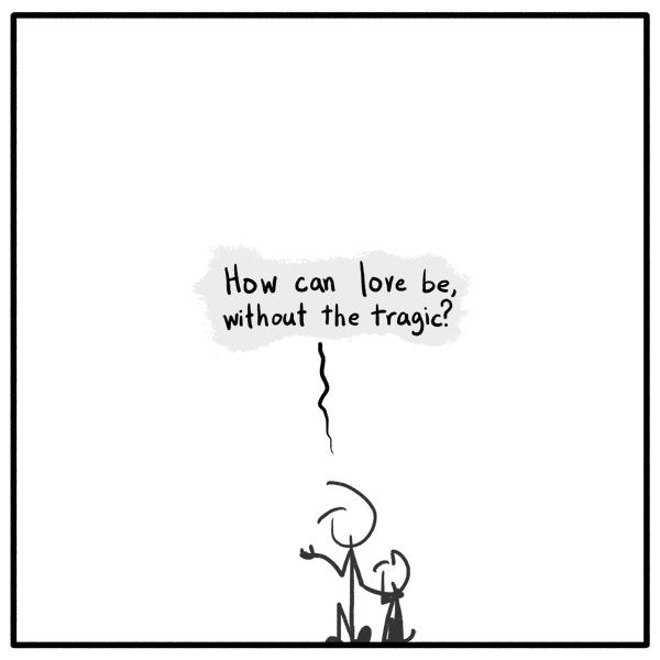Out of the Box weekly stickman web comic love tragic 272 I Good You Bidnight