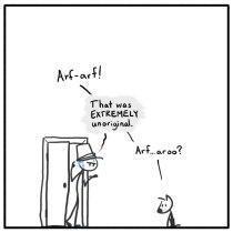 Out of the Box weekly stick figure web comic 278 An Original Joke