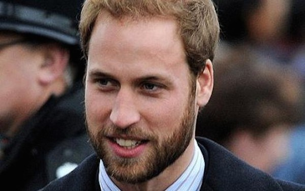 Prince William with beard