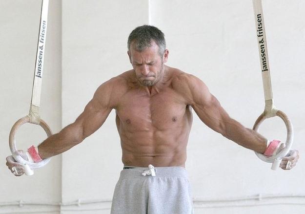 Yordan Yovtchev gymnast on rings