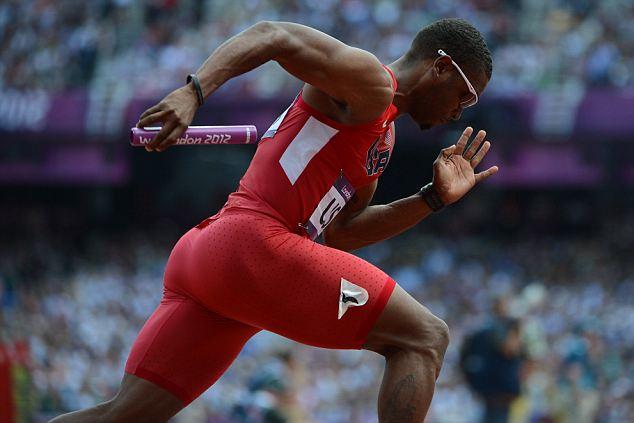 Manteo Mitchell sprinter London Olympics