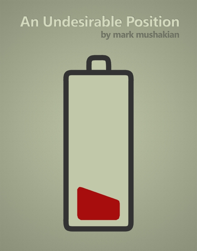 An Undesirable Position short story cover by Mark Mushakian