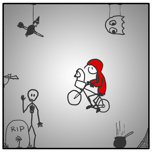 Out of the Box weekly stick figure web comic 308 Right Here