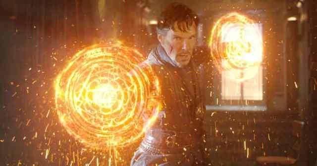 Doctor Strange magic shields