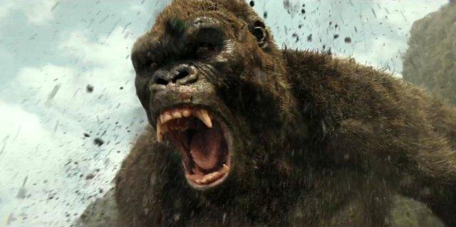 Kong Skull Island angry